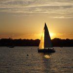 Sailing Through Sunset